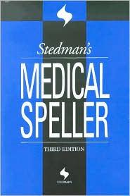 Stedman's Medical Speller
