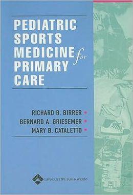 Pediatric Sports Medicine for Primary Care