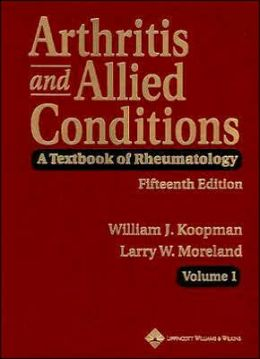 Arthritis and Allied Conditions: A Textbook of Rheumatology 15e
