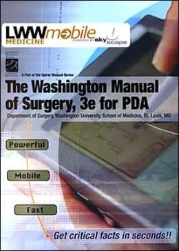 The Washington Manual of Surgery on CD-ROM for PDA
