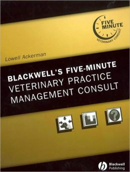The 5-Minute Veterinary Consult: Practice Management, 1E