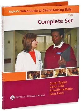 Taylor's Video Guide to Clinical Nursing Skills: Student Version Complete Set (17 DVD Set)