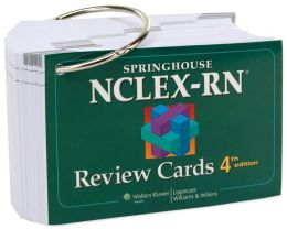 Springhouse NCLEX-RN Review Cards