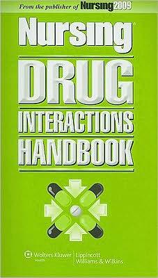 Nursing Drug Interactions Handbook