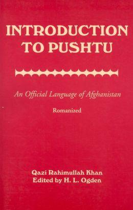 Introduction To Pushtu