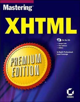 Mastering Xhtml Premium Edition