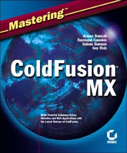 Mastering ColdFusion MX