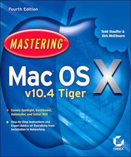 Mastering MAC OS X V10.4 Tiger