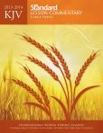 Book Cover Image. Title: KJV Standard Lesson Commentary Large Print Edition 2013-2014, Author: Standard Publishing