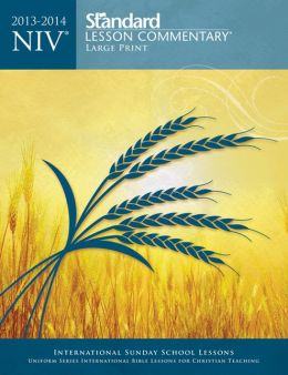 NIV Standard Lesson Commentary Large Print Edition 2013-2014