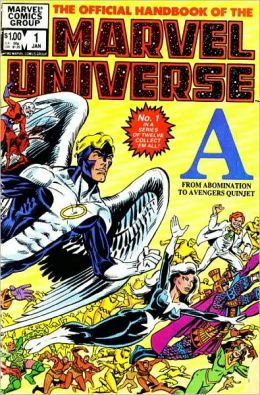 Essential Official Handbook of the Marvel Universe, Volume 1