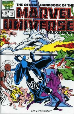 Essential Official Handbook of the Marvel Universe - Deluxe Edition Volume 2