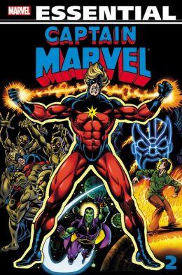 Essential Captain Marvel - Volume 2