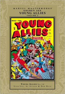Golden Age Young Allies Marvel Masterworks, Volume 2