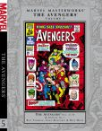Book Cover Image. Title: Marvel Masterworks:  The Avengers - Volume 5, Author: Roy Thomas