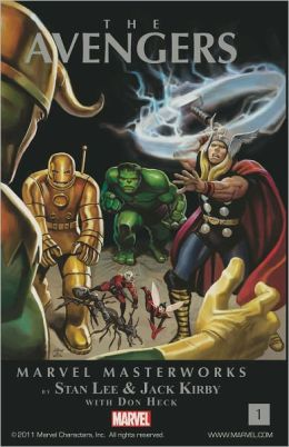 The Avengers Marvel Masterworks, Volume 1