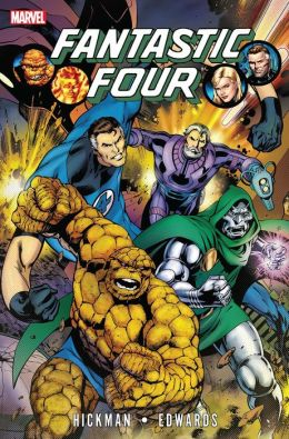 Fantastic Four By Jonathan Hickman Vol.3