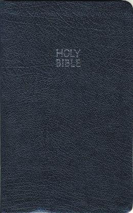 NKJV Slimline Bible: New King James Version, blue bonded leather