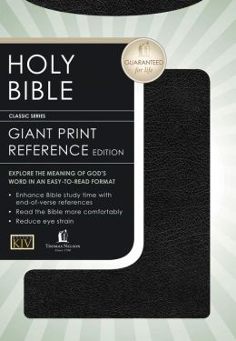 King James Giant Print Reference Bible