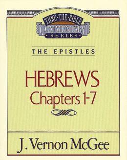 Hebrews I