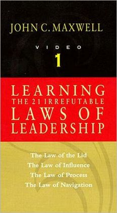 Learning the 21 Irrefutable Laws of Leadership, Video 1