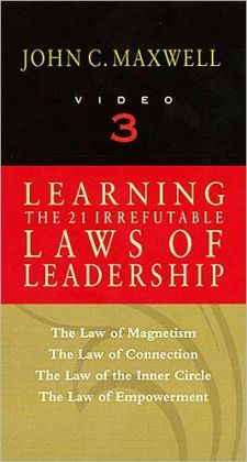 Learning the 21 Irrefutable Laws of Leadership, Video 3