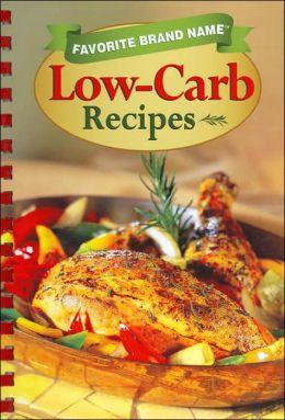 Low-Carb Recipes (Favorite Brand Name Series)