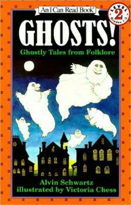 Ghosts!: Ghostly Tales from Folklore (I Can Read Book Series: Level 2)