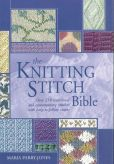 Book Cover Image. Title: Knitting Stitch Bible, Author: Maria Jones, Parry