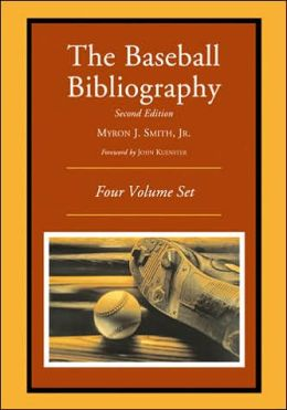 Baseball Bibliography (4 Volume Set)