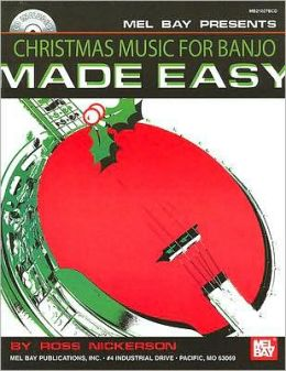 Christmas Music for Banjo Made Easy