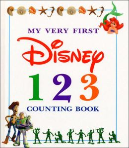 My Very First Disney 123 Counting Book