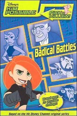 Disney's Kim Possible: Pick a Villain - Badical Battles - Book #2