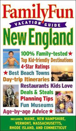New England (FamilyFun Vacation Guide Series)