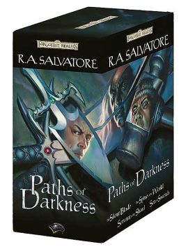 Forgotten Realms: Paths of Darkness Gift Set: The Silent Blade/The Spine of the World/Servant of the Shard/Sea of Swords