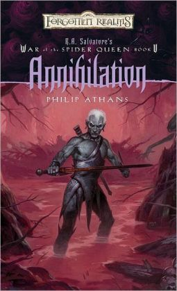 Forgotten Realms: Annihilation (War of the Spider Queen #5)