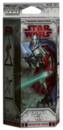 Star Wars Miniatures Galaxy at War - Booster Pack