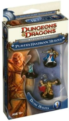 Player's Handbook Heroes: Series 1 - Divine Heroes 1 (D&D Miniatures Product Series)