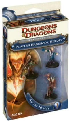 Player's Handbook Heroes: Series 1 - Arcane Heroes 1 (D&D Miniatures Product Series)