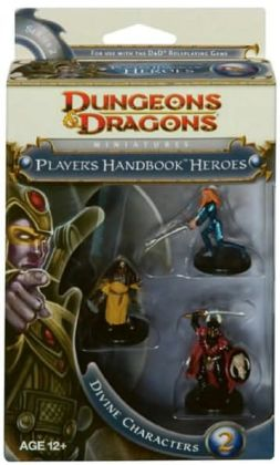 Player's Handbook Heroes: Series 2 - Divine Characters 2: A D&D Miniatures Accessory