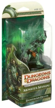 Monster Manual: Dangerous Delves (D&D Miniatures Product Series)