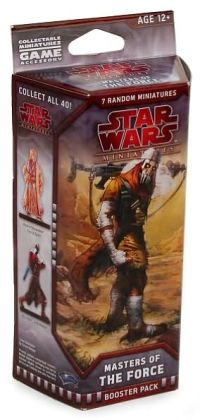 Star Wars Masters of the Force: A Star Wars Miniatures Booster Expansion