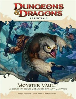 Monster Vault: An Essential Dungeons & Dragons Kit