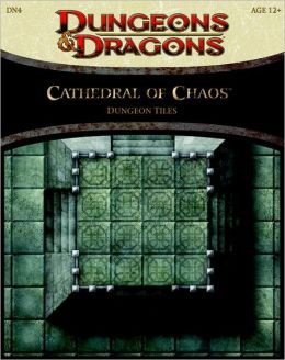 Cathedral of Chaos - Dungeon Tiles: A 4th Edition Dungeons & Dragons Accessory