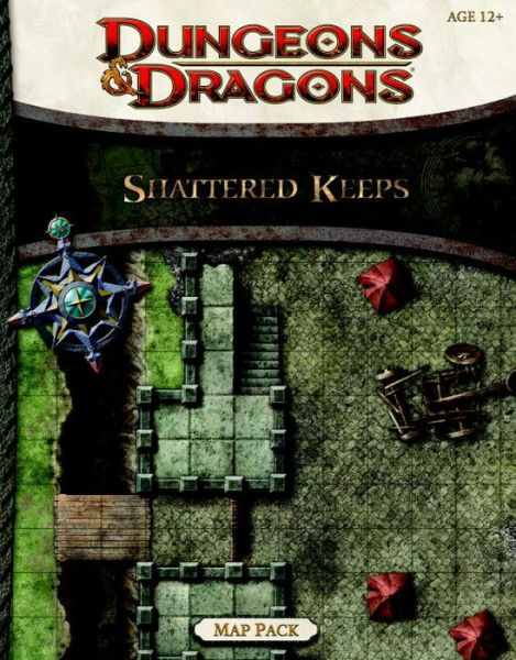 Free audio for books downloads Shattered Keeps Map Pack: A Dungeons & Dragons Accessory by Wizards RPG Team (English literature) 9780786960453