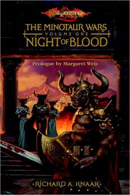 Night of Blood: The Minotaur Wars, Book 1