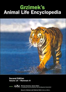 Mammals II (Grzimeks Animal Life Encyclopedia Series Vol. 14)