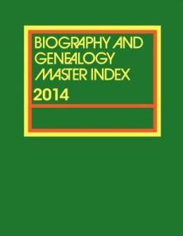 Biography and Genealogy Master Index Supplement 2006