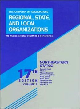 Regional, State, and Local Organizations: A Guide to over 100,000 United States Nonprofit Membership Organizations with Regional, State, or Local Scope and Concerned with All Subjects and Areas of Activity