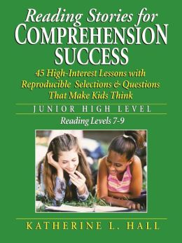 Reading Stories for Comprehension Success: Junior High Level, Reading ...